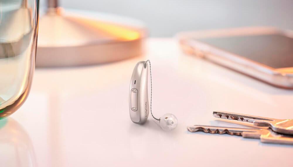 signia soorten hoorapparaat luidspreker in het oor