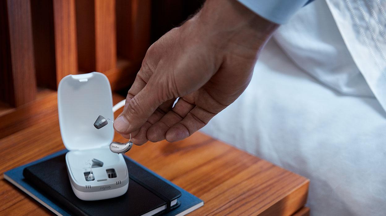 beste hoorapparaten signia xperience pure charge go liho hoorapparaat